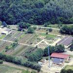 Luftaufnahme Betriebsgelände ca. 1980