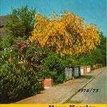 Pflanzenkatalog Cover von 1972