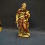 4P - S. Paolo - scultura legno dipinta a mano varie dimensioni