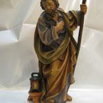 """33T - S. Giuseppe """"COSTA"""" in legno scolpito e dipinto a mano"""