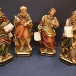 2P - I quattro Evangelisti - scultura legno dipinta a mano varie dimensioni