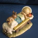 11R - Bambinello della collezione ANRI Ferrandiz in legno fatto a mano