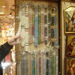 N - Rosari diversi materiali (cristalli - pietre varie - legno)