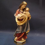 2H - Madonna - scultura in legno dipinta a mano varie misure