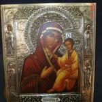 3G - icona russa in argento russo dipinta a mano