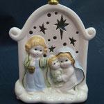 3U - Natività in porcellana con luce
