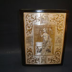 8C - Lezionario in pelle ed argento bianco e dorato