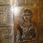 9C - particolare del Messale in pelle ed argento bianco e dorato