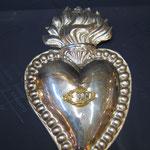 1c- Cuore in argento del 1700