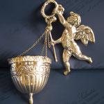 17B - Acquasantiera in argento fatta a mano