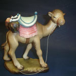 """9S - Il cammello viaggiatore -  di """"ANRI FERRANDIZI """" scultura in legno dipinta a mano"""