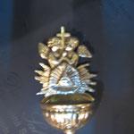 13B - Acquasantiera in argento fatta a mano