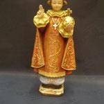1P - Bambinello di Praga - scultura legno dipinta a mano varie dimensioni