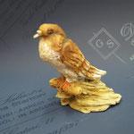 """13S - Falco di """"ANGELA TRIPI"""" in terracotta"""