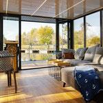Hausboot mieten in Brandenburg | Hausbooturlaub in Brandenburg | Hausboot Komfort+ - Klasse