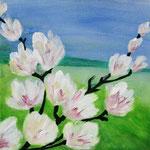 kleine Magnolie    30 x 30