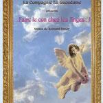 """La Gueudaine, Affiche """"Faire le con chez les Anges !..."""""""