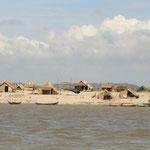 Sur le fleuve Ayeyarwady (Irrawaddy)