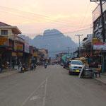 Rue de Vang Vieng