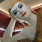 Bouddha couché à la Paya Chaukhtatgyi
