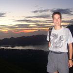 Au sommet du volcan Batur