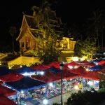 Night Market et le temple