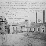 la cour de la sucrerie en 1917