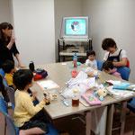 船堀の託児室にて(清美さん&奈津子さん)