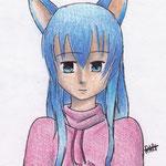 Anne-lise ( crayons de couleurs)
