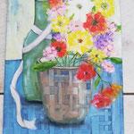 Blumenstrauß  30 x 40 cm                                                    30,00 €