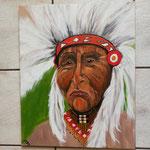 Indianer           50x50 cm                                                                                   50,00€