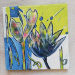 Blaue Blume 20x20 cm                                                                              10,00 €