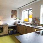 Stall, Küche