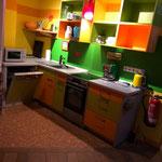 Küche Reetwohnung Westen