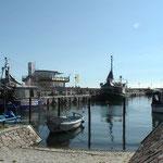 Fischereihafen Sassnitz auf rügen