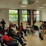 """21/06/2021: Intervention à l'AFPA de Villers-Saint-Paul, Promo 16-18, Module FR """"Les addictions """"."""