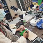 03/06/2021: Visite des ateliers de formations professionnelles des jeunes au centre AFPA de Villers-Saint-Paul (60), un partenaire de choix