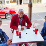 21/06/2021: A Creil avec Deodato et Simao N'Toni (18 et 16 ans), 2 jeunes pépites respectivement co-fondateurs, vice-président et président de JACSO (Jeunesse et Ambition Creil Sud Oise)