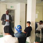 """10/06/2021: Intervention à l'école de la 2e chance - antenne de Creil, module FR """"Théories du comportement"""""""
