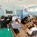16/06/2021: Intervention à Marseille de l'équipe FR ( Joséphine Camara, Éro NGoubili et Abel Boyi) à  la Paternelle avec l'assos Jeunes Renaissance