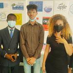 29/07/2021: À Creil, École de la 2e chance. Intervention de Sarah Frikh et Bouchra Sirsalane sur le fléau du cyberharcèlement et l'engagement humanitaire. Avec les jeunes de JACSO.