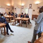 15/09/2021: Dialogue Police/Jeunesse avec Abdoulaye Kanté à Compiègne.