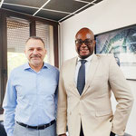 07/07/2021: À Marseille avec monsieur Bruno Benjamin, Président du CRIF - section Marseille/Provence. Préparation de futures actions de terrains sur Marseille.