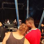 03/07/2021: Concert de rap Grodash et Flymen Vision Crew. Évènement à Clichy-sous-Bois - Dialogue Police/Jeunesse, comment apaiser les tensions?