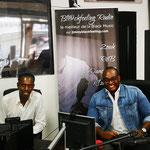 """18/08/2021: Á Marseille, émission sur  Blackfeeling Radio dans l'émission Le bon temps"""" avec Mister Jimmy."""
