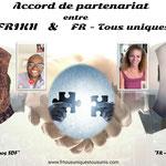 """15/072021: Accord d'un nouveau partenariat avec Sarah Frikh, journaliste, lanceuse d'alerte, créatrice du mouvement  """"Sauvons nos SDF""""."""