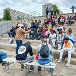 03/07/2021: Débat avec les jeunes .Évènement à Clichy-sous-Bois - Dialogue Police/Jeunesse, comment apaiser les tensions?