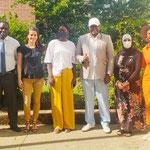 09/06/2021: Forum d'inclusion sociale avec Cécilia Lokange dans les locaux de Femmes sans frontière à Creil