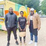 03/07/2021: Avec Siaka Traoré et Mariam Cissé. Évènement à Clichy-sous-Bois - Dialogue Police/Jeunesse, comment apaiser les tensions?
