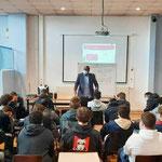 """17/05/21: Intervention au Lycée Louis Armand à Nogent-Sur-Marne dans le cadre du programme """"Éveil"""" sur la lutte contre les discriminations"""